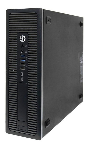 Desktop Hp Compaq Elite 800 G1 Intel I7 16gb 250gb - Usado