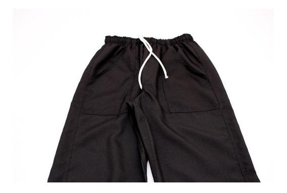 Calças Masculina Oxford (02unid) Preto
