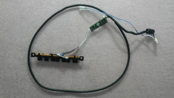 Sensor Cr + Teclado Funções Samsung Ln40a550p Bn41-00990a