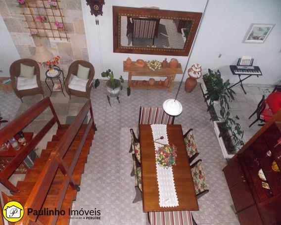 Casa No Litoral, Casa Em Peruíbe, Casa Na Praia, Casa Na Baixada Santista, Pé Na Areia. - Ca02246 - 3093399