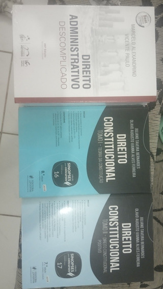 Livros De Direito Constitucional E Administrativo Concursos