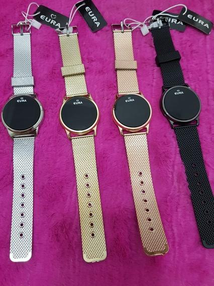2 Relógios Touch Screnn Feminino Original Digital Garantia