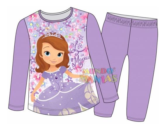 Pijama Niñas Manga Larga Disney Princesita Sofia Mundomanias