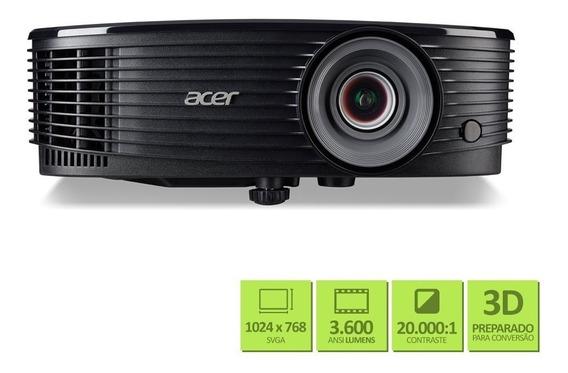 Projetor Acer X1223h 3600 Lumens Conexão Vga Hdmi