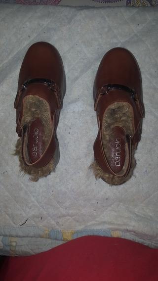 Zapato Sueco De Dama Nu 36