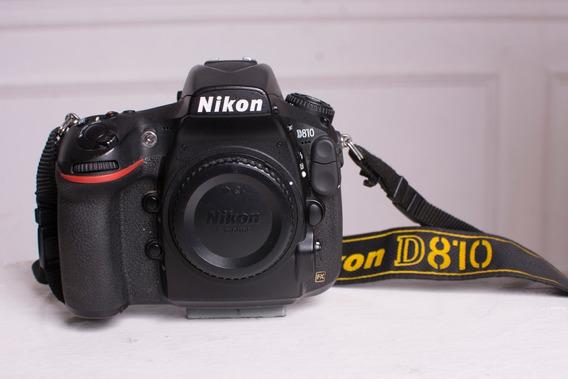 Nikon D810 + 2 Baterias + Grip + Lente 35mm + Lente 50mm
