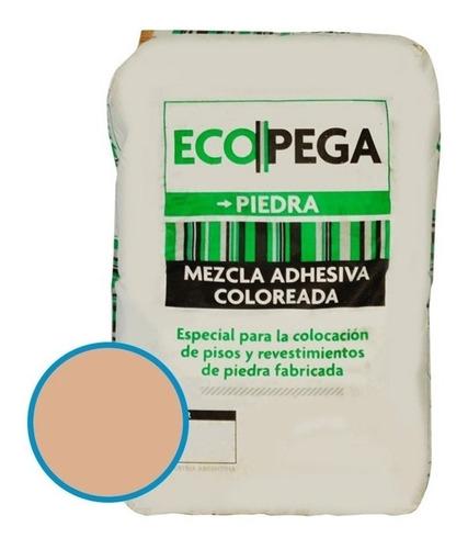 Ecopega Crema P/ Revestimiento Cementicio Ecostone Bolsa 30k