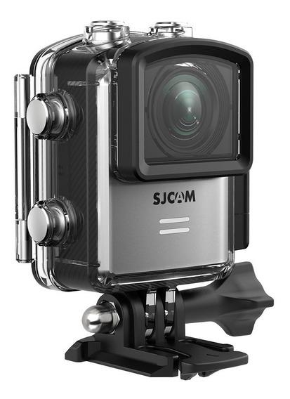 Câmera Sjcam M20 Fullhd 4k Wifi 32gb+ Bastão Moto Bike Sport