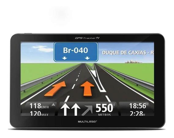 Gps Lcd 4,3 Touch Tv Digital Rádio Fm Câmera Ré Multilaser
