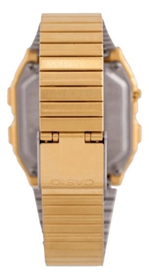 Relógio Casio Unissex Vintage Data Bank Db-380g-1df