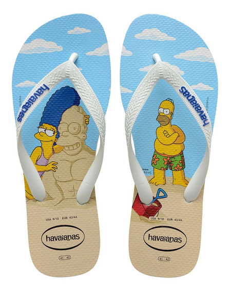 Chinelo Havaianas Top Simpsons