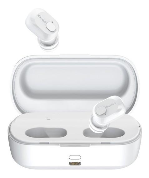 Fone De Ouvido Bluetooth Stereo Resistente A Suor Baseus W01