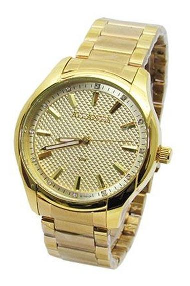 Relógio Feminino Dourado Atlantis Original