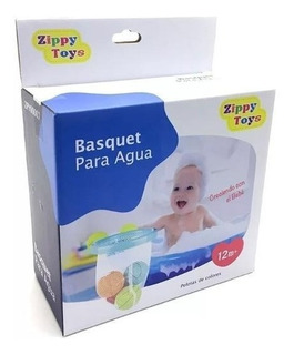 Juguete Basquet Para El Agua Con Red Y Pelotas Zippy Toys