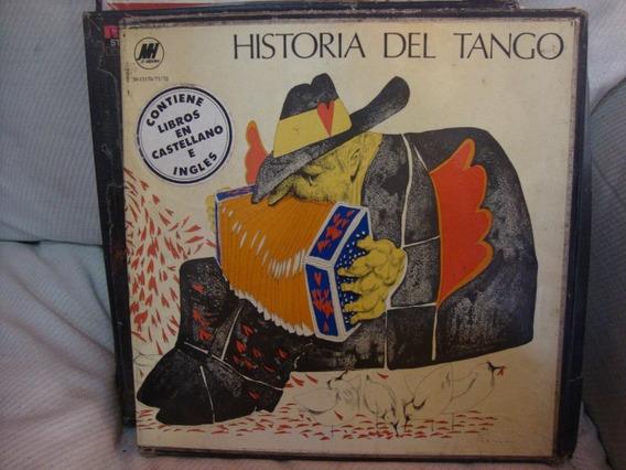 Vinilo Coleccion Hist Tango 3 Disco + Libros