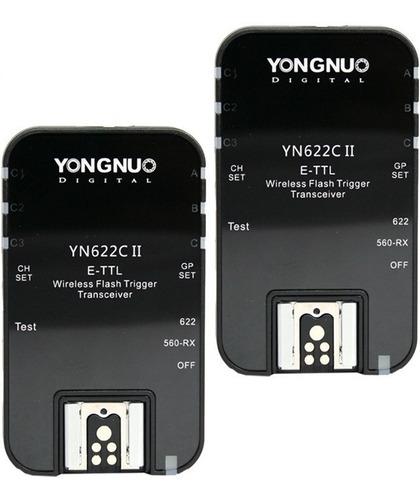Par De Radios Yongnuo Yn-622 C Version Ii Ttl Para Eos Canon
