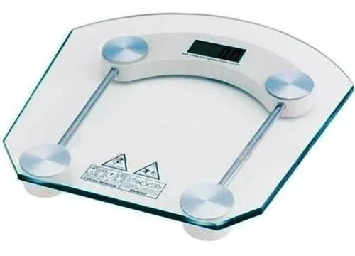 Balança Digital De Vidro Para Banheiro E Academia Ate 180 Kg