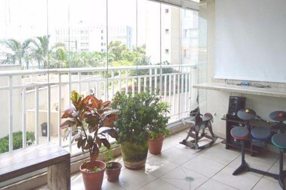 Apartamento Residencial À Venda, Campo Grande, São Paulo. - Ap1251