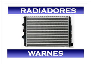 Radiador Volkswagen Gol Power 2011/2012 1.4 C/aire