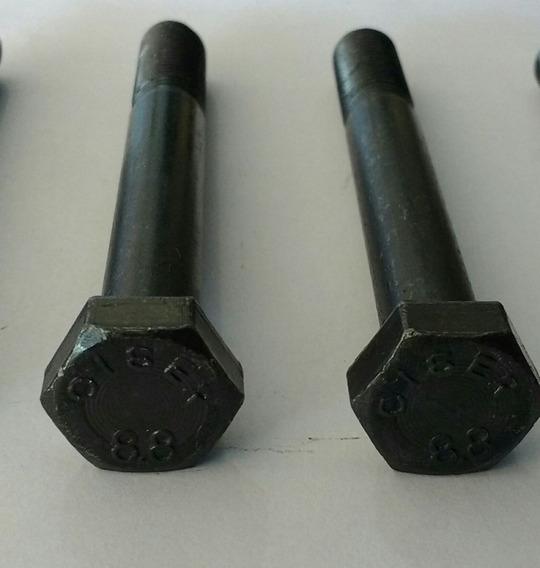 Parafuso Aço 12x90 P/ Fixar Suspensão Diant. Fusca (2 Peças)
