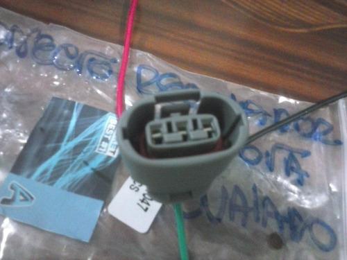 Conector  Regulador  Alternador Toyota Corolla Ovalado G5