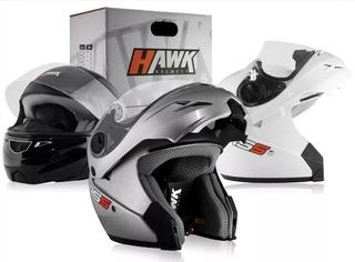 Casco Moto Hawk Rs5 Rebatible Flip Up Solomototeam