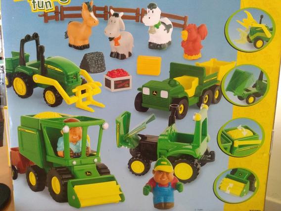 Brinquedo John Deere Com Miniaturas