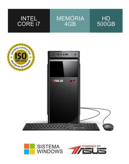 Cpu Asus I7 3.40ghz Ram 4gb Hd 500gb+teclado/mouse
