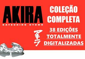 Akira Coleção Completa Digitalizada - 38 Edições Da Ed Globo