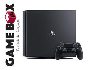 Ps4 Pro 1tb Consola - Nueva De Paquete - Garantia
