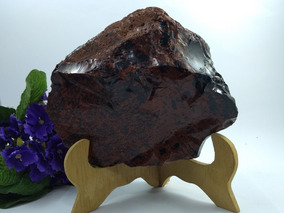 Obsidiana Mogno Bruta 1.828 Kilos