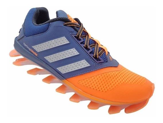 Tênis adidas Springblade Drive 2015 Azul Marinho E Laranja