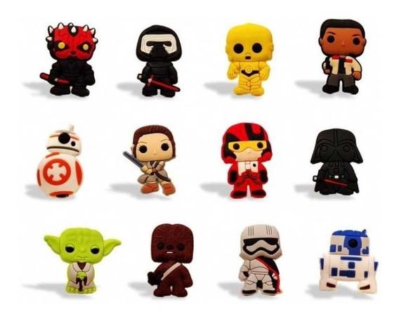 Star Wars 12 Personajes Imanes Mini Funko