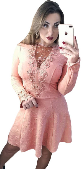 Vestido De Festa Curto Rodado Boneca Princesa Lindo Barato