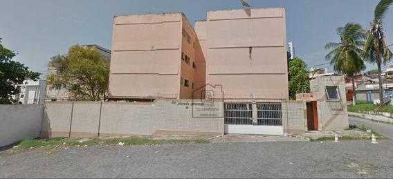 Apartamento Com 2 Dormitórios À Venda, 100 M² Por R$ 130.000 - Praia Do Meio - Natal/rnapartamento Com Sala Para 2 Ambientes, Varanda Interligadav0810 - Ap0425