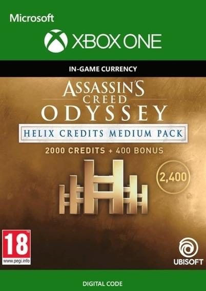 Assassins Odyssey Créditos Helix 2000 + Bonus - Patch Xbox One