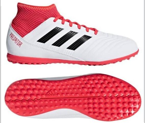Tenis adidas Predator Tango Fútbol Rápido Blancos Niños