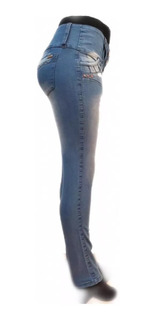 Pack X 3 Jeans Dama Elastizado Hasta Talle 62 A Eleccion