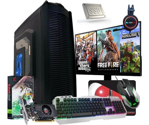 Pc Gamer Completo I5 8gb Ssd 240gb Hd 1tb Placa De Video