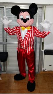 12 Hs Alquilo Disfraz Cabezon Adultos Mickey O Minnie