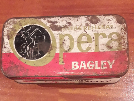 Antigua Lata De Galletitas Opera De Bagley