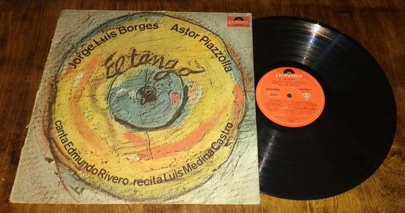 Astor Piazzolla Jorge Luis Borges El Tango Disco Vinilo Lp
