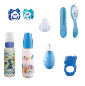 Kit Bebê Menino 2 / Kit Chupeta,mamadeira,acessórios