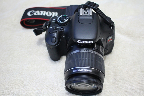 Camera Canon T3i Com Lente Ef-s 18-55mm