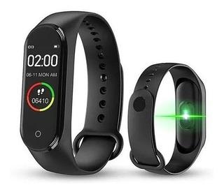 Relógio Similar Ao Mi Band 4 Smartwatch M4 #jj