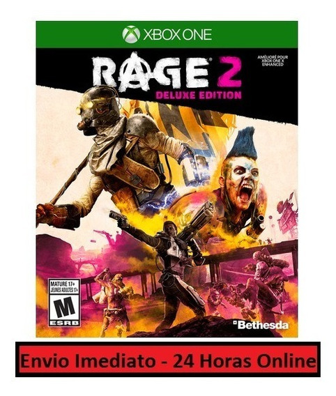 Rage 2 Jogo + Todo Conteúdo Extra - Xbox One Midia Digital