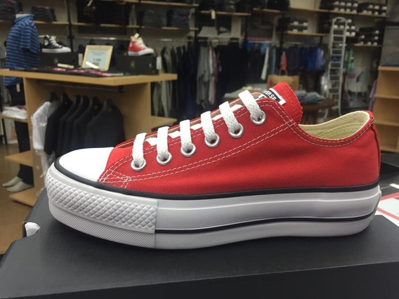 Zapatilla Converse All Star Plataforma Ox Dama Hot Sale Lm