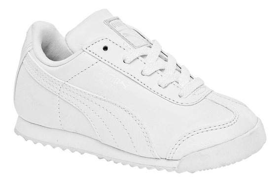 Tenis Puma Roma Basic Blanco Bebe 354260-14