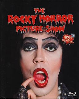 The Rocky Horror Picture Show 35 Aniversario Book Blu-ray