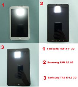 Tablets: Samsung Tab 3, Samsung Tab A6 E Samsung Tab E 9,6